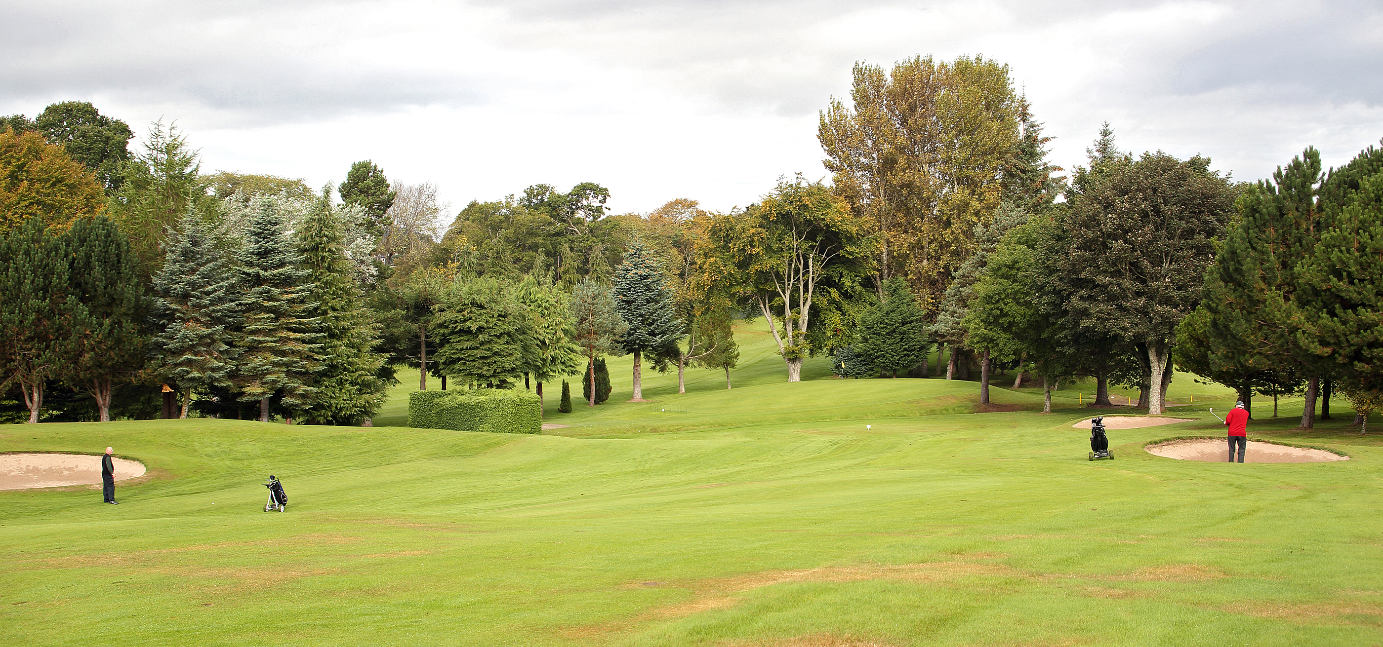 6th Fairway to green