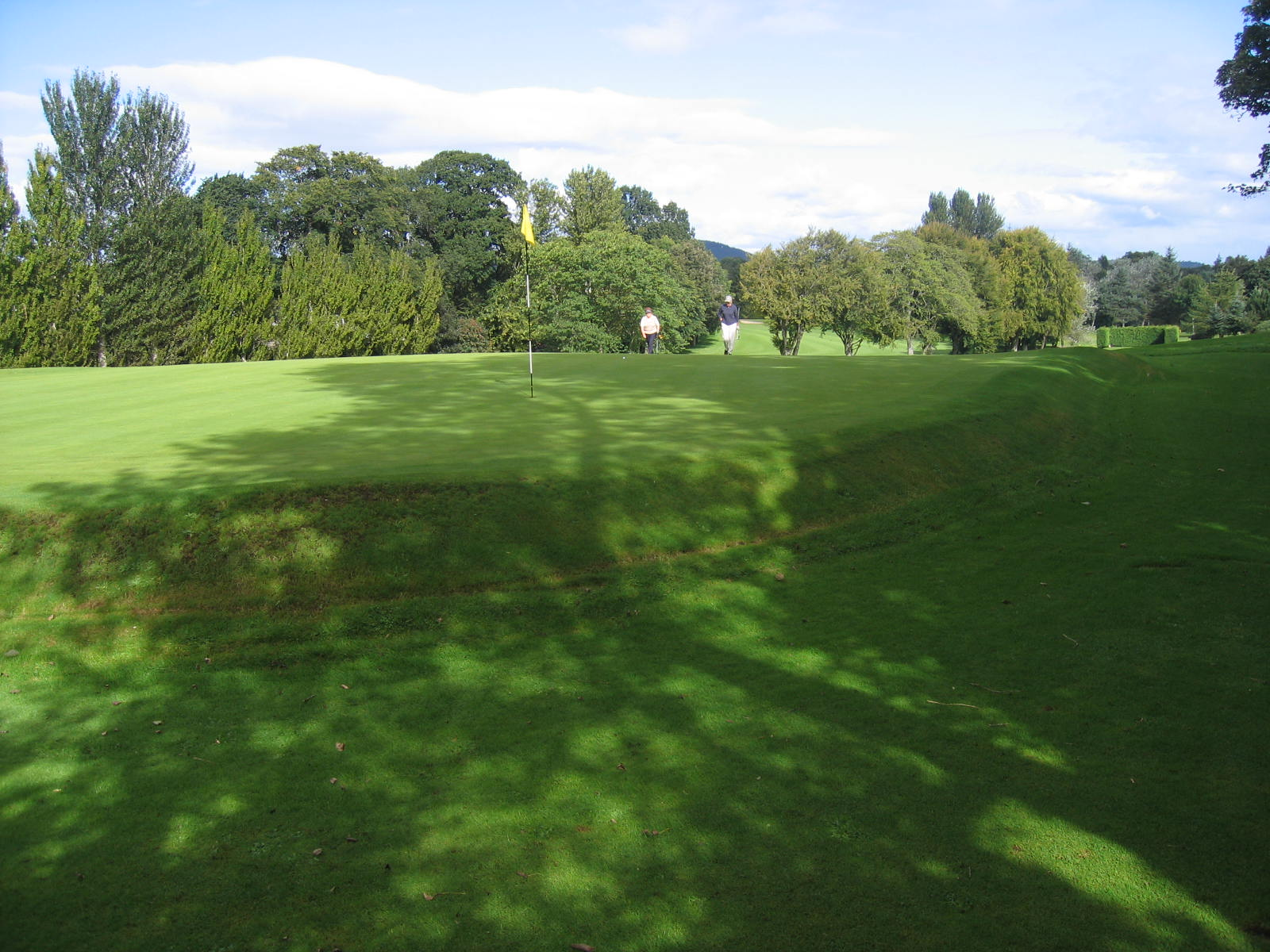 7th rear of green