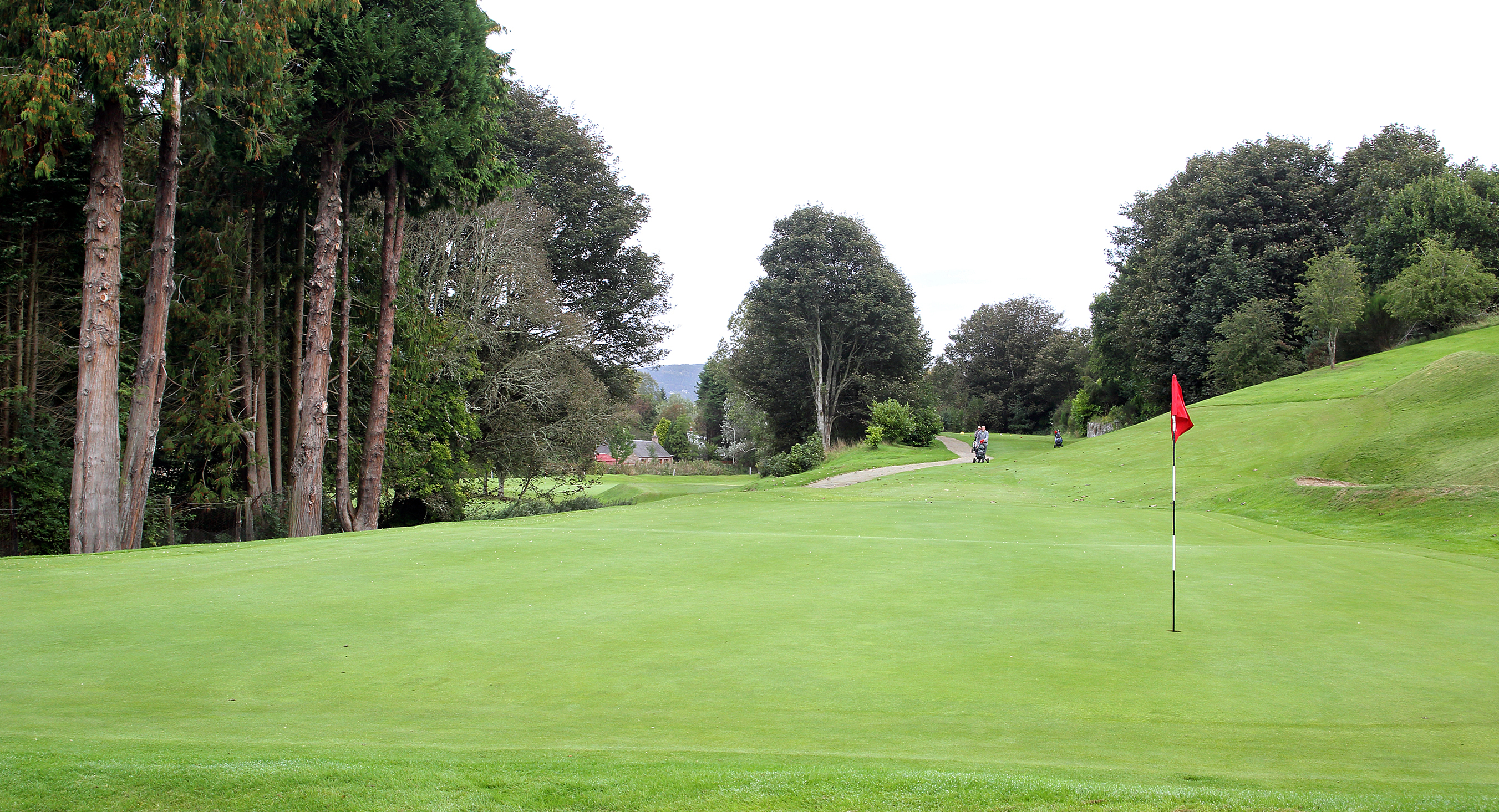 15th green to the tee
