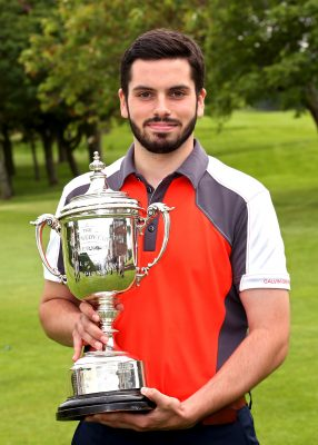 Jonathon Keith. 2016 Gents Scratch Club Champion