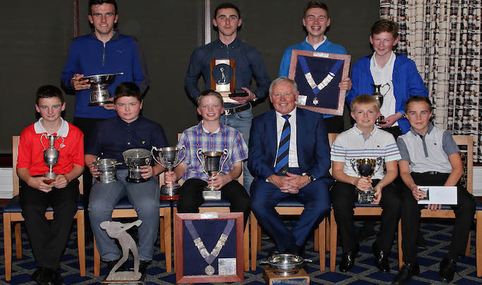 Inverness Golf Club Junior Golf Awards 2016