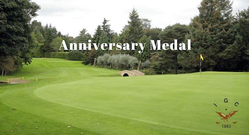 Inverness Golf Club Anniversary Medal